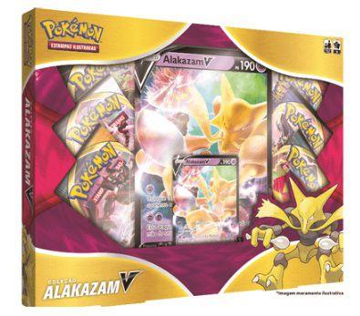 Box Pokémon Alakazam V