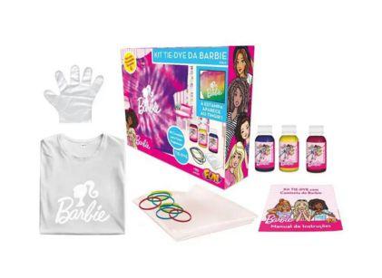 Kit Tie Dye da Barbie Camiseta Tam G