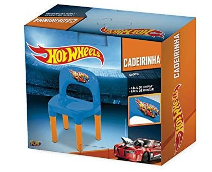 Cadeira Hot Wheels