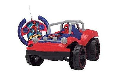 Veiculo Controle Remoto Spiderman Buggy Hero