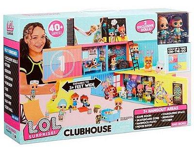 Boneca LOL Clubhouse Playset