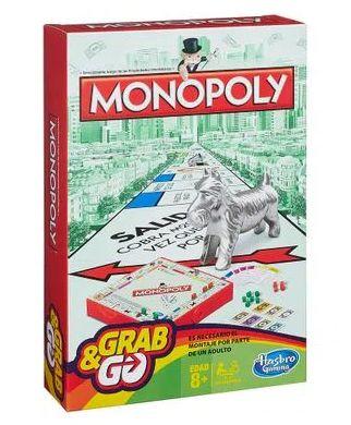 Jogo Monopoly Grab e Go