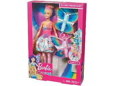 Boneca Barbie Asas Voadoras