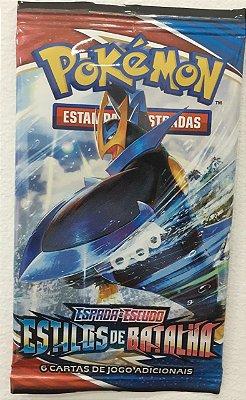 Carta Pokémon Espada e Escudo Série 5 Estilos de Batalha - Booster