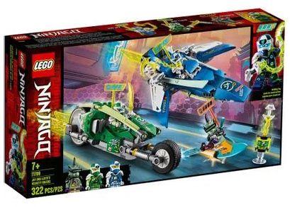 Lego Ninjago Veiculo Corrida Jay e do Lloyd