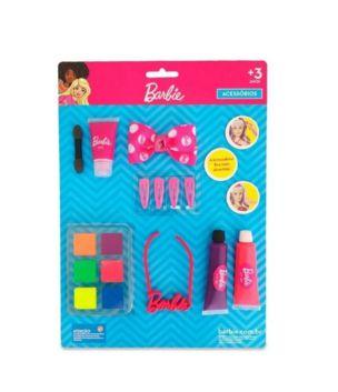 Maquiagem para Boneca Kit  Colar Barbie