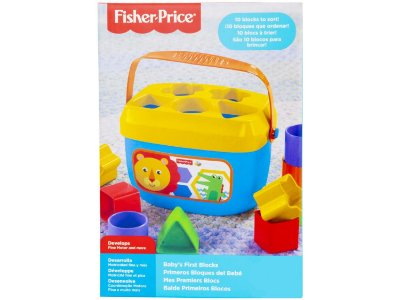 Balde Meus Primeiros Blocos Fisher-Price