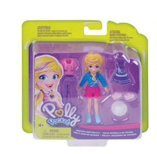 Boneca Polly Pocket Aventuras