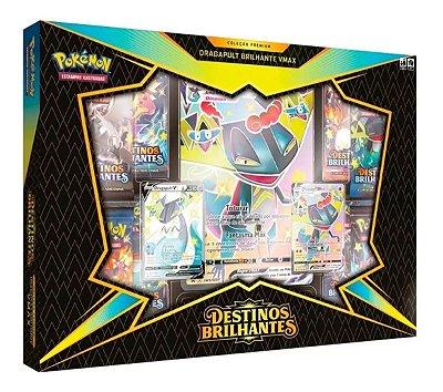 Box Pokemon Destinos Brilhantes Dragapult Brilhante Vmax