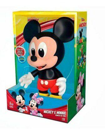 Boneco Mickey Baby de Vinil