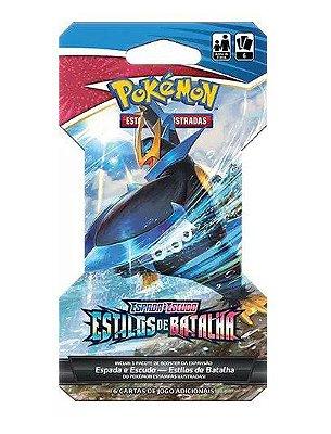 Carta Pokémon Espada e Escudo Série 5 Blister Unitário - Estilos de Batalha