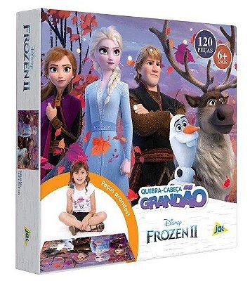 Quebra-Cabeça 120 Peças Frozen 2 Grandão