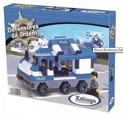 Blocos Defensores Ordem Polícia