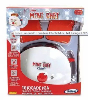 Torradeira Mini Chef