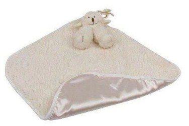 Naninha Blanket Cetim Carola Marfim