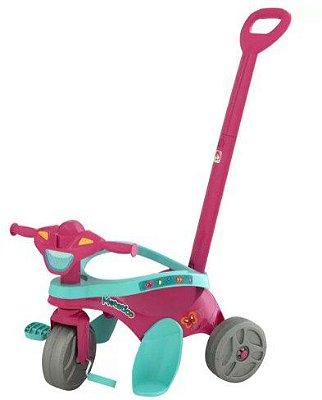 Triciclo Infantil Mototico - pedal rosa