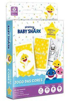 Jogo Cartas Baby Shark - jogo das cores