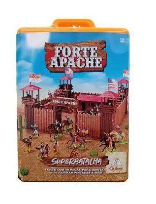 Forte Apache Super Batalha pintados