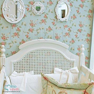 Papel de Parede Infantil e Bebê Floral  (lavável, cola grátis, indicamos instalador) - FP811002