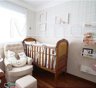 Papel de Parede Infantil e Bebê Xadrez (lavável, cola grátis, indicamos instalador) - FP811011