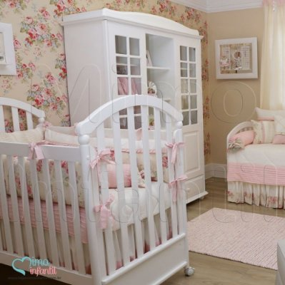 Papel de Parede Infantil e Bebê Floral (lavável, cola grátis, indicamos instalador) - FP811015