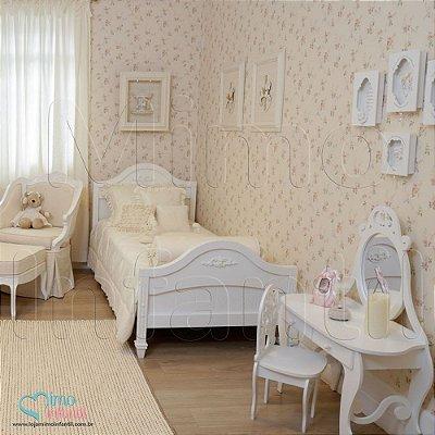 Papel de Parede Infantil e Bebê Floral (lavável, cola grátis, indicamos instalador) - FP811039
