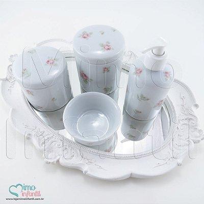 Kit Higiene para Bebê Floral 2 - KH0007