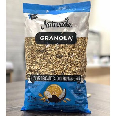 Granola Com Frutas Naturale Light 1Kg