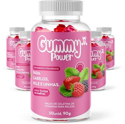 Gummy Power 150 dias