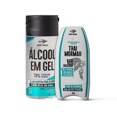 Kit Desodorante Vegano e Alcool Gel Mormaii