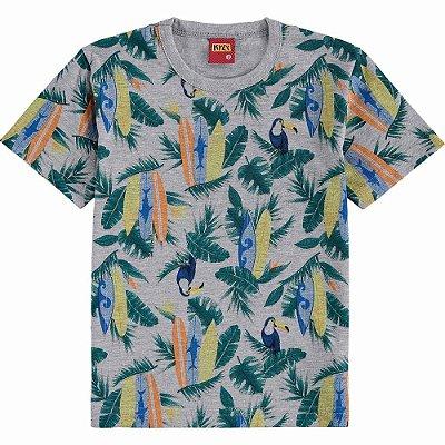 Kyly Camiseta Infantil Masculina Manga Curta 110961