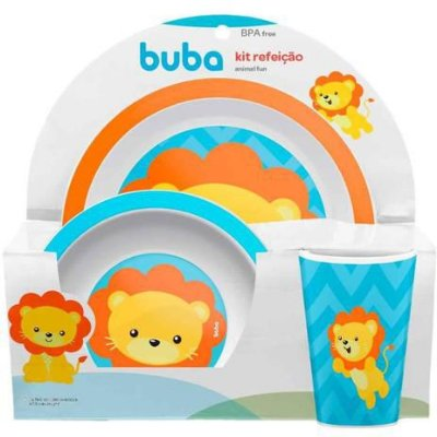 Buba Baby Kit Refeição para Bebês e Crianças 10734