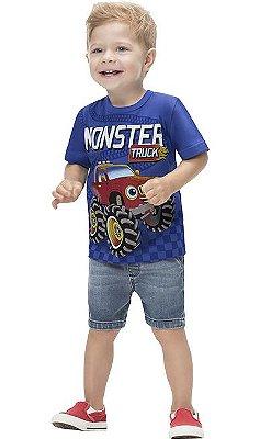 Kyly Camiseta Infantil Masculina Manga Curta 110938