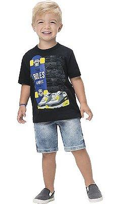 Kyly Camiseta Infantil Masculina Manga Curta 110959