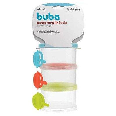Buba Baby Kit Potes para Bebês e crianças 09373