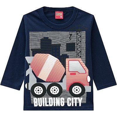 Kyly Camiseta Infantil Masculina Manga Longa 207426