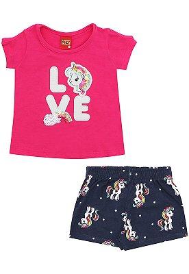 Kyly Conjunto Infantil Feminino 109.627