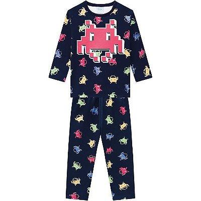 Kyly Pijama Infantil Masculino Manga Longa 207550