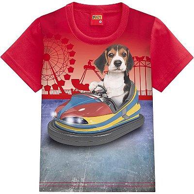 Kyly Camiseta Manga Curta Infantil Masculina 110268