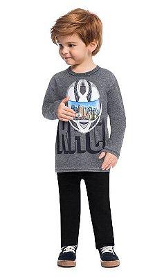 Kyly Camiseta Infantil Masculina Manga Longa 207451