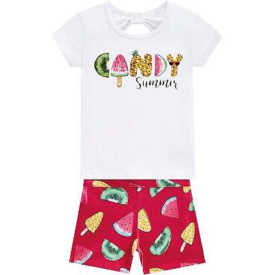 Kyly Conjunto Infantil Feminino 110202