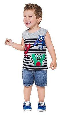 Kyly Camiseta Regata Infantil Masculina 110267