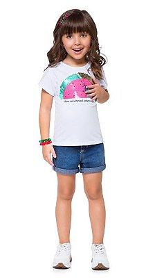 Kyly Blusa Infantil Feminina 110210 Cor Pink