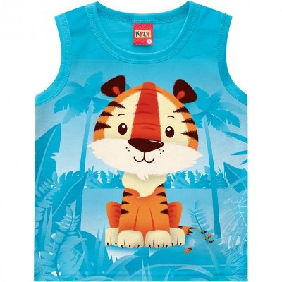 Kyly Camiseta Regata Infantil Masculina 109.697