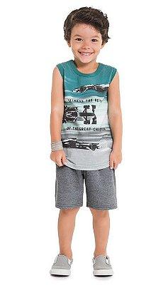 Kyly Conjunto Bermuda Infantil Masculino P109.730
