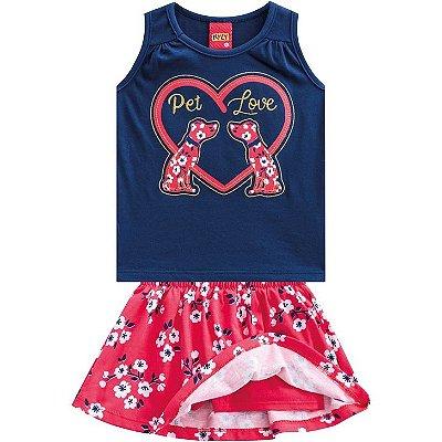 Kyly Conjunto Infantil Feminino 110.013