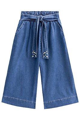 Infanti Calça Jeans Infantil Feminina 40186 Cor Jeans