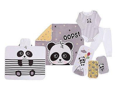 Colibri Kit Presente Bebe 7 Peças 48253 Cor Panda