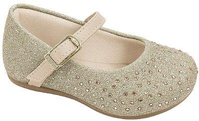 Pampili Sapato Feminino 4896 Cor Dourado
