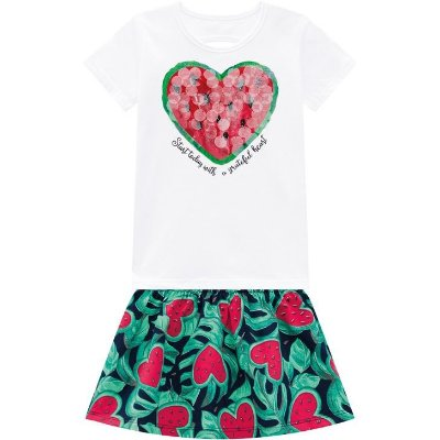 Kyly Conjunto Infantil Feminino 110232  Pink